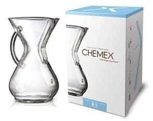 Chemex Pour Over Coffee Maker, 6-Cup