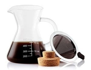 Apace Living Pour Over Coffee Maker